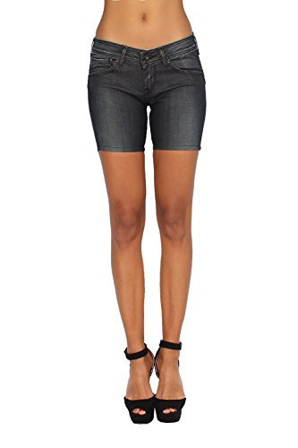 Pepe Jeans Women's Shorts Joule Denim - Black, W29 (Jeans Pepe Shorts)