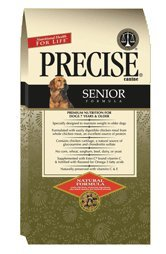 Precise Senior Dry Dog Food, 5-lb bag