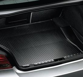 BMW 1 Series Convertible Trunk Compartment Mat Black 2008-2012 Genuine Factory OEM (Convertible Cargo Mats)