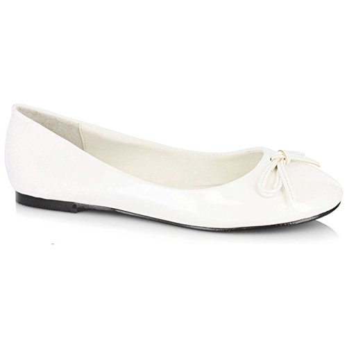 Scarpe Ellie Da Donna 016-mila Bianco Piatto