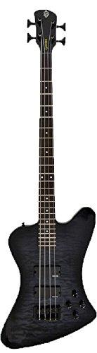 Spector Basses Legend Series LG4XCLSBKS 4-Strings Classic Bass Guitar, Black Stain
