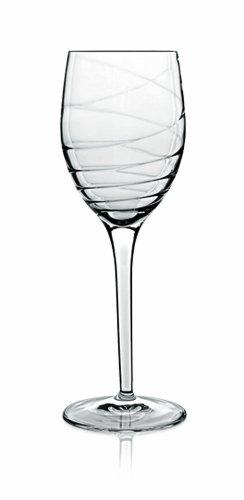 Luigi Bormioli Set of 4 Romantica Stemmed Wine Glasses, 9.5-Oz. from Luigi Bormioli