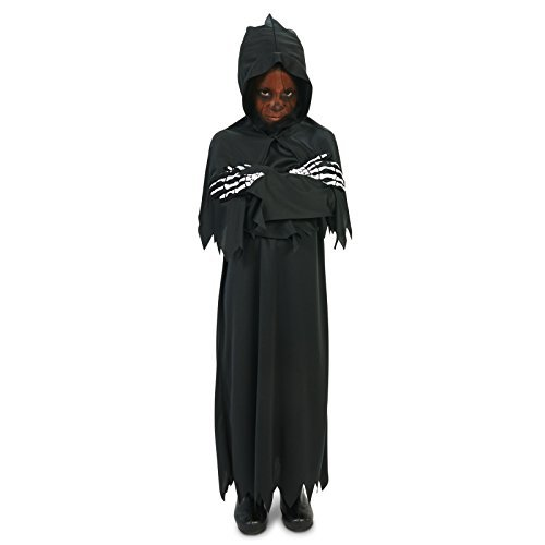 Hooded Grim Reaper Child Costume M (8-10) ()