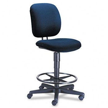 New - ComforTask Task Swivel Stool, Blue by HON