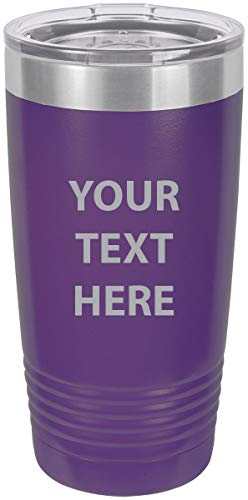 Personalized Add Your Custom Text Insulated Tumbler 20