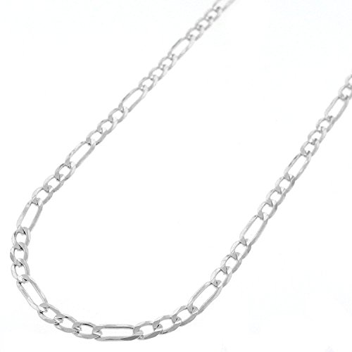Sterling Silver Italian 3mm Figaro Link ITProLux Solid 925 Necklace Chain 16