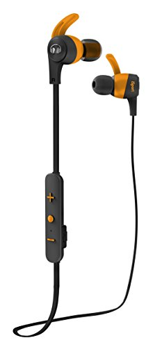 Monster iSport Achieve In-Ear Bluetooth Wireless Headphones, Black/Orange