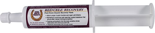 Horse Health Red Cell Recovery Post-Event Muscle Recovery Paste, 60 cc