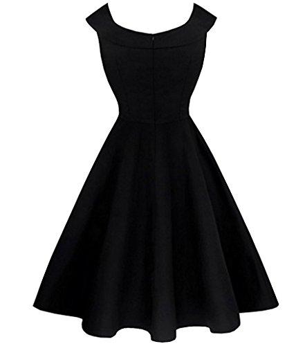 Print Bubble Hem Dress - 9