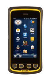 Price comparison product image Trimble Navigation Juno T41 Windows Embedded Handheld 1.0GHZ 512MB/16GB IP65 Bluetooth Wi-Fi/WWAN 2-4M GPS 8MP Camera Black, Yellow Bezel T41XLN-TYW-00