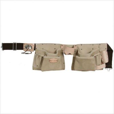 Style n Craft 92-427 10 Pocket Top Grain Tool Belt