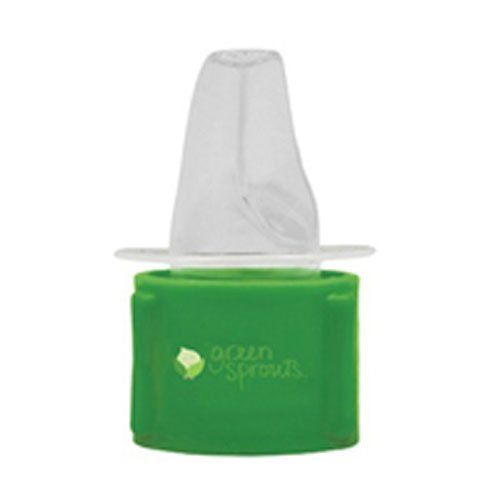 Spout Adapter - Green Sprouts Water Bottle Cap Adapter Toddler, (Pack of 3)