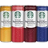 Starbucks Refreshers, 4 Flavor Variety Pack, 12 Ounce Slim Cans, 12 Pack Thank you for using our service