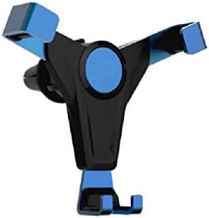 車の電話ホルダー、カーナビゲーションユニバーサルコンセントブラケット (色 : 青)