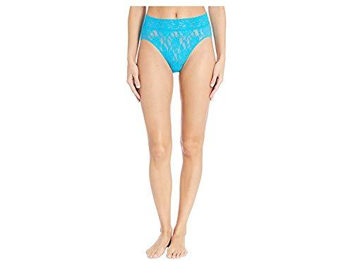 (Hanky Panky Women's Signature Lace French Bikini Fiji Blue Large)