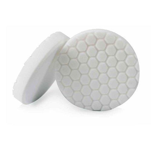 Chemical Guys BUFX_104HEX6 - Hex-Logic Light-Medium Polishing Pad, White (6.5 Inch) Style: Light-Medium Polishing Pad Size: 6.5 Inch Model: BUFX_104HEX6 Car/Vehicle Accessories/Parts