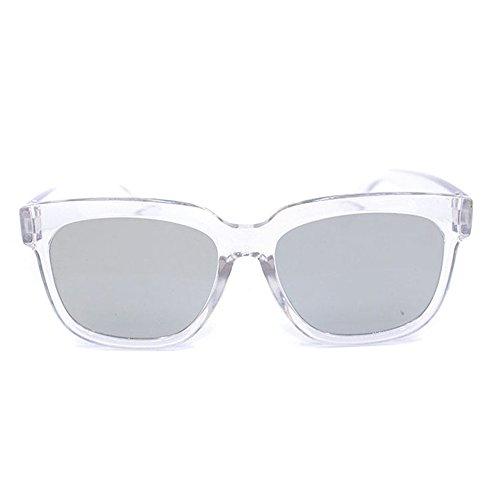 TININNA Mode Lunettes de Soleil Polarisées UV400 en Plastique Cadre AC Verre Sunglasses pour Femmes Bleu FKMNla2