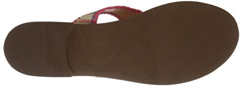Jack Rogers Women's Alana Dress Sandal, Buttercup/White, 9.5 M US Madras