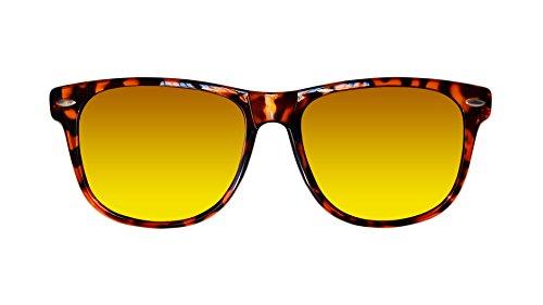para rayos patillas Fire de Tortoise de del Sunglasses Protección 100 con UV hombre de madera Classic Gafas polarizadas Skyfield sol mujer y WFq74znx