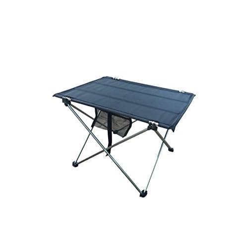 Bleu–Table pliante de plein air Camping en alliage d'aluminium Table de pique-nique étanche Table pliante Desk