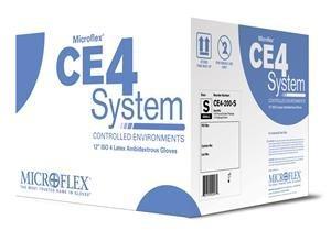 Microflex CE4-879 Hand Specific Latex Glove Sterile Powder Free Silicone Free Disposable 11 Length 5.9 mils Thick [並行輸入品] B077JPMB6V