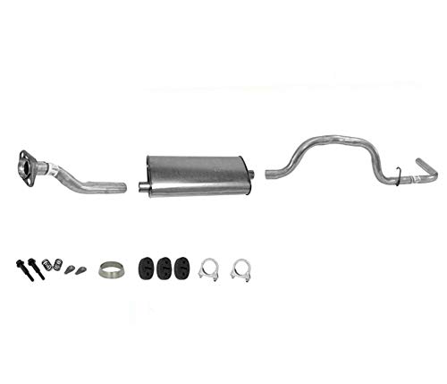 Exhaust System Muffler For 98-03 Ranger 3.0 4.0 Only With 112 Inch Wheel Base ()