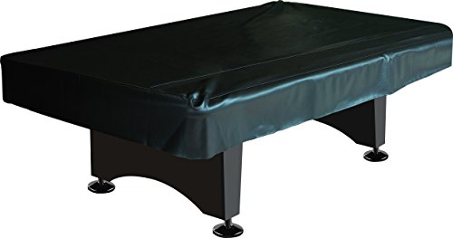 Imperial Billiard/Pool Table Fitted Naugahyde Cover, 8-Foot Table, Black