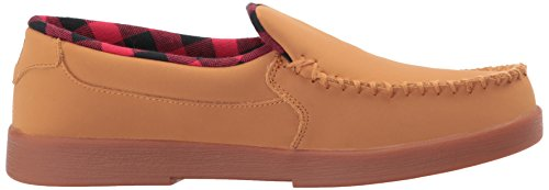 DC Shoes Mens Villain SE Slip On Low Top Shoes Wheat Chocolate Brown 8