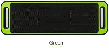 ArMordy (TM SC208 Altavoz inalámbrico Bluetooth 4.0 Caixa de som estéreo Subwoofer Altavoces TF USB FM Radio micrófono Integrado Dual Caja de Sonido de Graves, Verde: Amazon.es: Deportes y aire libre