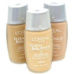 L'oreal Ideal Balance Balancing Foundation for Combination Skin Pale 35 Ml -