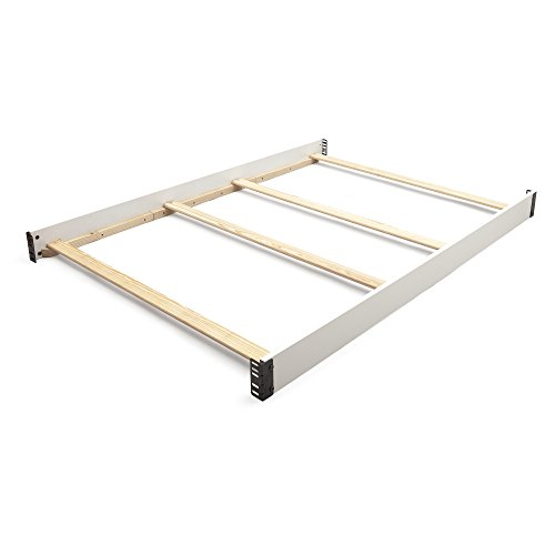 - Delta Children Wooden Full-Size Bed Rails, Bianca
