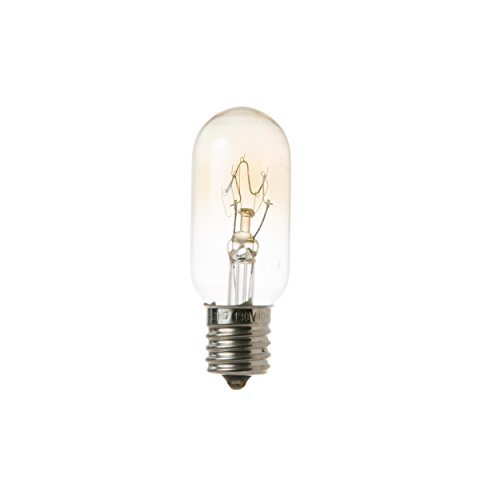 general electric wb36x10003 microwave light bulb 40 watts 130 volt. Black Bedroom Furniture Sets. Home Design Ideas
