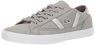 Lacoste Womens Sideline Grey Size: 5