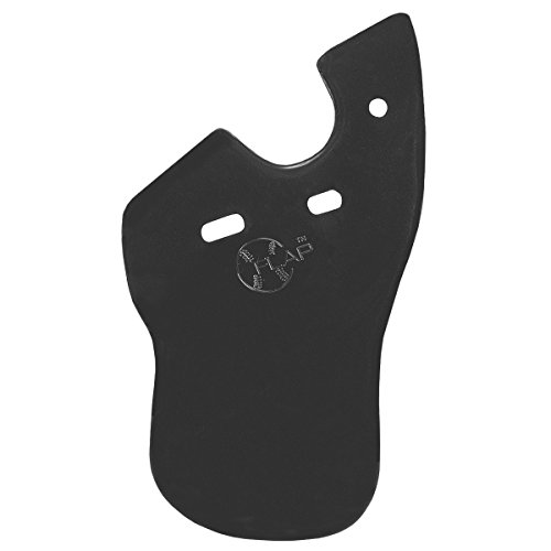 Markwort C-Flap Jaw Cheek Protection Right Handed Batter - Matte Black by