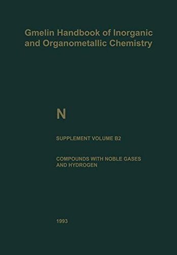 N Nitrogen (Gmelin Handbook of Inorganic and Organometallic Chemistry - 8th edition) (Part 2)