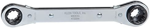 Klein Tools KT223X4 Lineman's Ratcheting 4-in-1 Box Wrench by Klein Tools