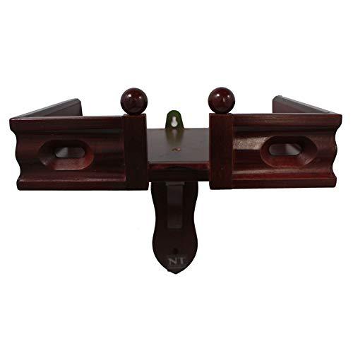 NT furniture Buddha Altar Shelf Stand Wooden Wall Rack Ming (8x12x11 inches, Cherry)