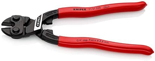 KNIPEX 71 31 200 CoBolt Compact Bolt Cutters black atramentized plastic coated 200 mm