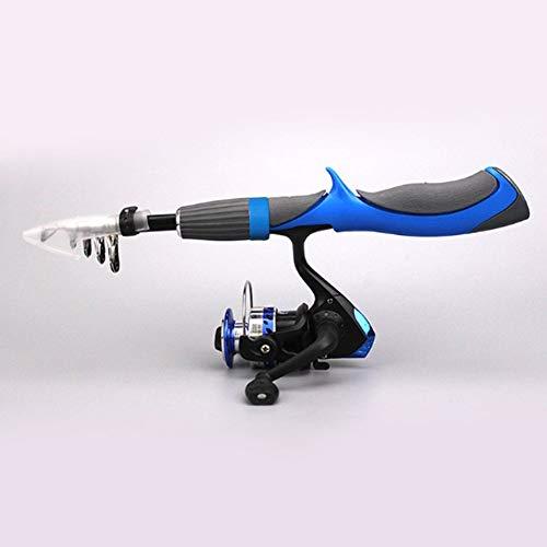 KEBIN Superduro Fibra de Carbono ca/ña de Pescar telesc/ópica Viaje al Aire Libre de Pesca Rod Poste