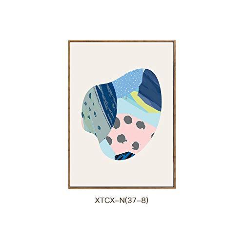 Jane C Dekorative Tintenstrahl DEED des europäische ästhetisches literarisches Aquarellpasswortmalerei Malerei Artwohnzimmerwandgemälde Moderne Schlafzimmerrestaurants OZ7Zdq