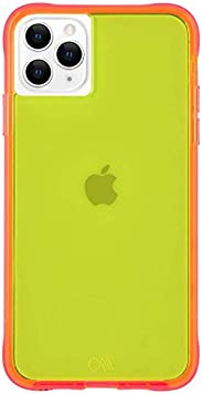 Case-Mate - iPhone 11 Pro Case - Tough NEON - 5.8 - Yellow/Pink Neon, CM039334