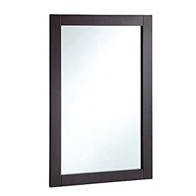 Design House Bathroom Vanity Mirror - 20W x 30H in. - Additional limited-time savings reflected in current price Overall dimensions: 20W x .75D x 30H in. Frame crafted with solid wood - bathroom-mirrors, bathroom-accessories, bathroom - 31EPOofy57L. SS400  -