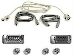 10ft PS2 KVM Cable Kit for Omniview ()