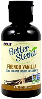 Now Foods BetterStevia Liquid Extract French Vanilla – 2 oz. 2 Pack