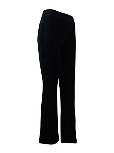Embellished Velour Pant - 1