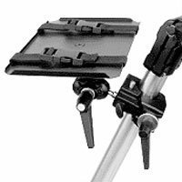 Manfrotto 311K Video Monitor Platform 311 with Super Clamp and Double Ball Joint 155 - Replaces 3152K (Gray)