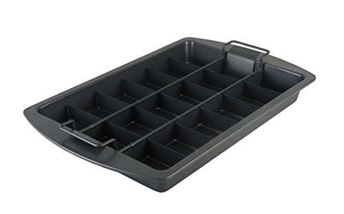 Chicago Metallic Professional Slice Solutions Brownie Pan, - Pan Brownie New