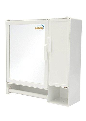 zahab Bathroom Cabinet-Smart(White)