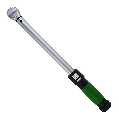 eTORK (C2100 3/8-Inch Drive Click Style Torque Wrench (20-100 ft.-lb./25-135 - Torque Wrench 3 8