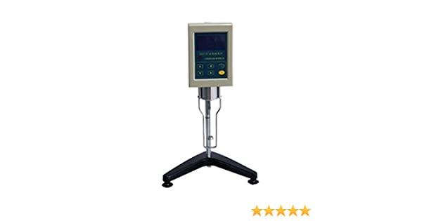 Amazon.com: Digital Display Rotary Viscometer Viscosity Fluidimeter Tester Meter NDJ-8S (0#, 1#, 2#, 3#, 4#, five kind rotors): Computers & Accessories